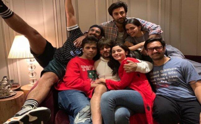 Karan Johar's 'biggest BLOCKBUSTER ever' features Shah Rukh, Aamir and more