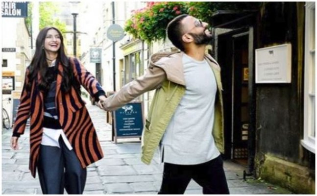 Sonam Kapoor-Anand Ahuja's latest photograph is winning the hearts on internet
