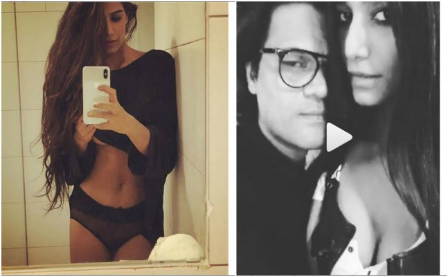 Poonam Pandey flaunts her bosoms & transparent PANTY!