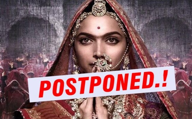 OFFICIAL! Deepika's Padmavati release date deferred following protests