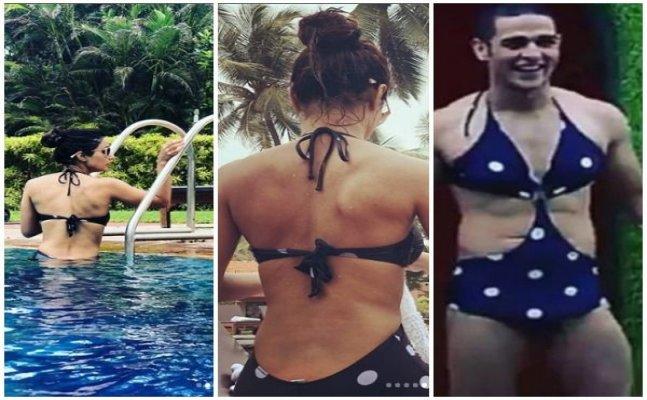 Priyank Sharma wants to wear Hina Khan's Bigg Boss swimsuit again!