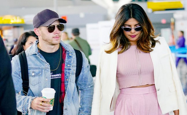Priyanka Chopra and Nick Jonas spotted on a date