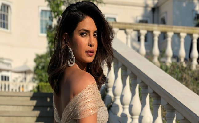 Priyanka Chopra's shimmery outfit at the royal reception was spectacular