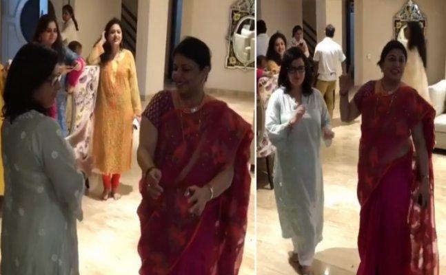 WATCH: Priyanka Chopra's mom dance with Nick Jonas mother
