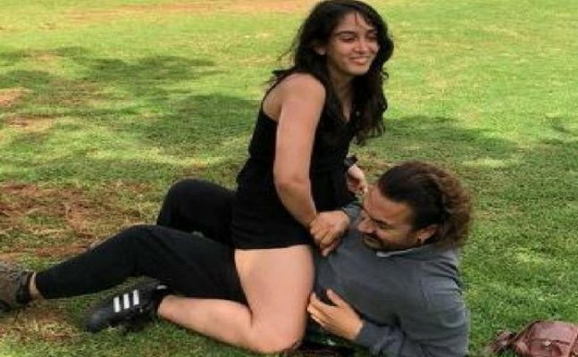 Aamir Khan gets trolled for his picture with daughter Ira Khan
