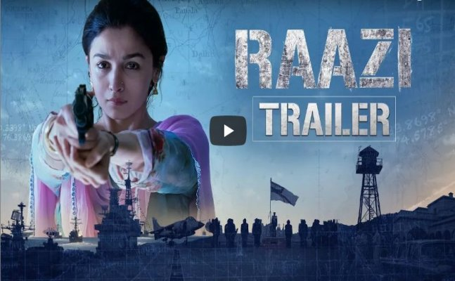 Raazi Trailer: Alia Bhatt's stunning performance will give you goose bumps