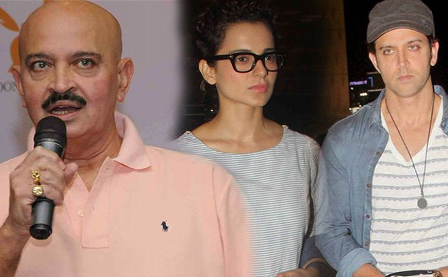 Kangana-Hrithik spat: Rakesh Roshan finally speaks up about whole issue
