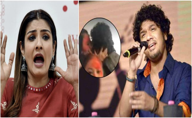 Raveena Tandon speaks up on Papon's kissing controversy