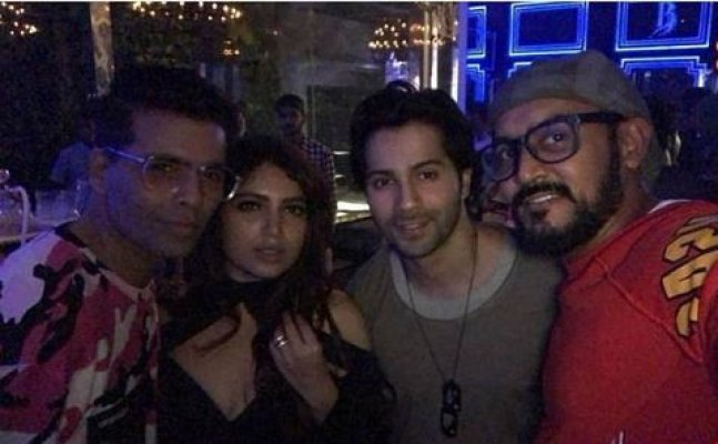 Bhumi Pednekar's Bday: Varun Dhawan, Karan Johar and others attend party