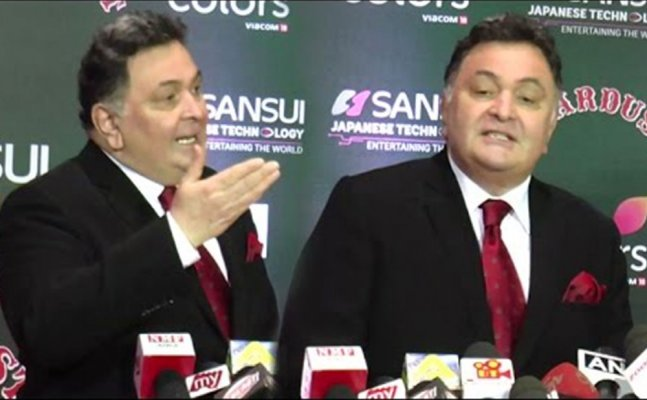 Rishi Kapoor insults media says