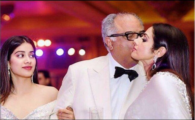 Janhvi and Boney Kapoor share emotional posts on Sridevi's 22nd wedding anniversary