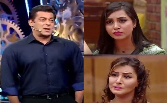 Bigg Boss 11: Arshi accuses Salman for taking Shilpa's side