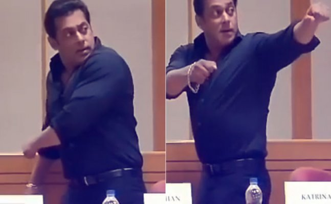 Salman Khan nails his #BloomFlossChallenge