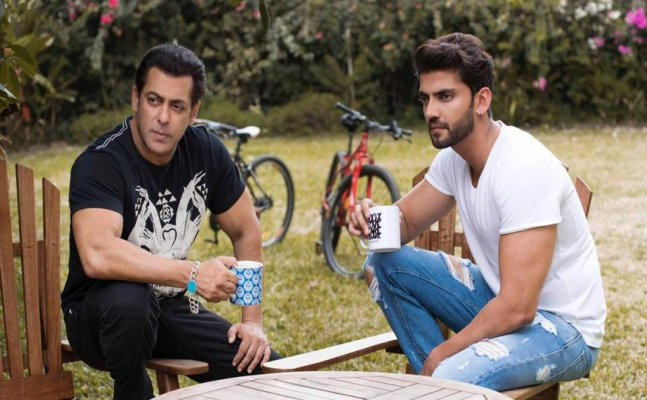 Salman Khan launches new actor Zaheer Iqbal