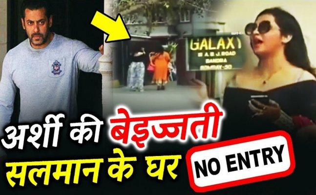 Arshi Khan was not ALLOWED to meet Salman Khan at Galaxy