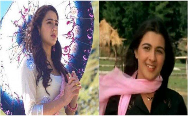 Sara Ali Khan looks totally like mom Amrita Singh in