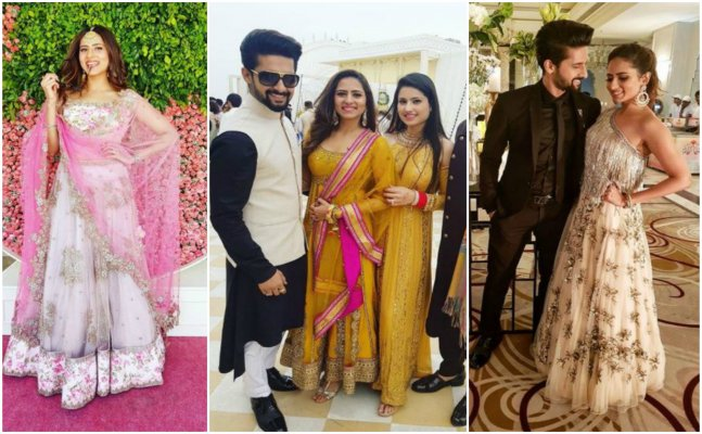 TV Actress Sargun Mehta's pics from her BFF's wedding are GORGEOUS