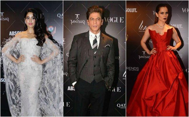 Janhvi, Kangana, Saif: Celebs sizzle at Vogue Beauty Awards red carpet