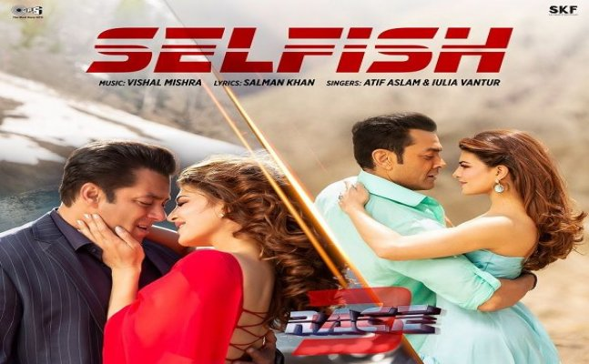 Salman and Jacqueline starrer Race 3's new song 'Selfish' teaser out