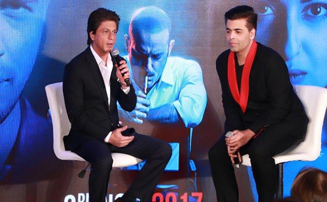 Karan Johar introduces SRK & Sidharth Malhotra