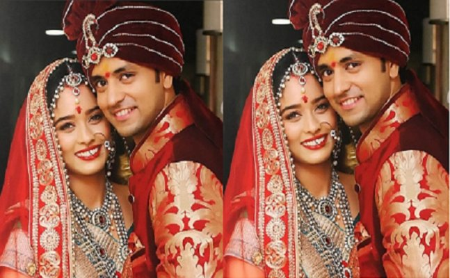 See pic: 'Meri Aashiqui Tumse Hi' actor Shakti Arora marries girlfriend Neha Saxena