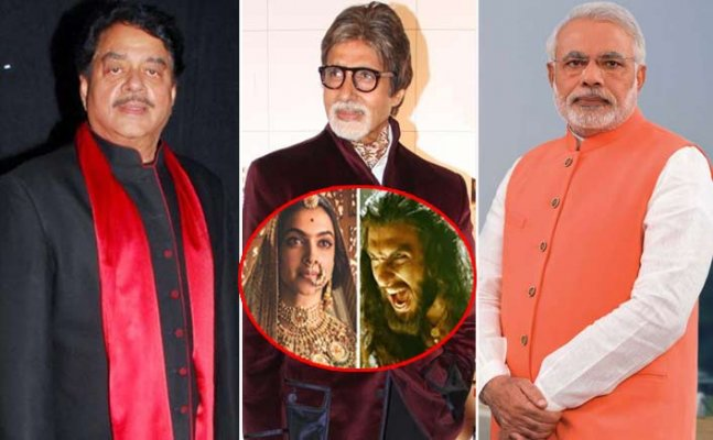 'Padmavati' row: Shatrughan Sinha wants Big B to speak on the controversy