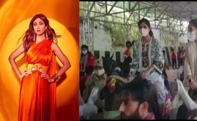 Shilpa Shetty undertakes pilgrimage to Mata Vaishnodevi shrine