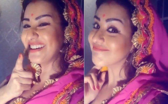 Shilpa Shinde is back as 'Bhabhi ji'