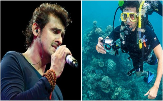 Sonu Nigam to come up with underwater song!