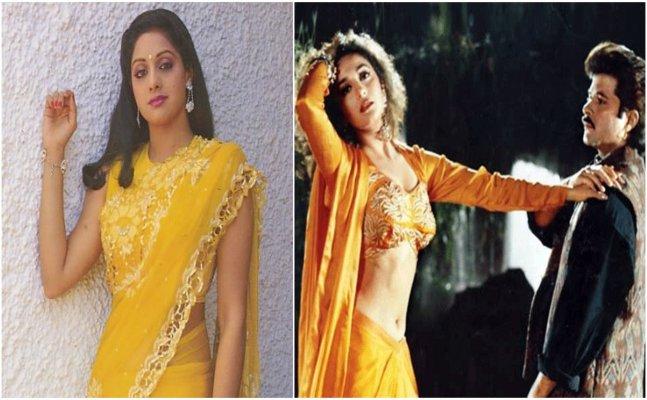 Not Madhuri but Sridevi was set to become 'Dhak Dhak Girl'