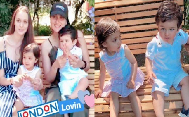 Taimur Ali Khan goes for a zoo date with girlfriend