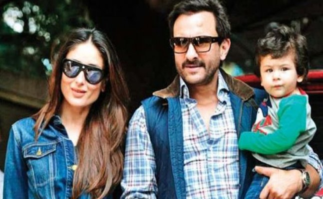 Pics and Videos: Kareena parties while Taimur plays in a park in London