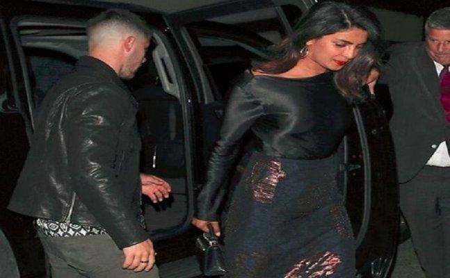 Priyanka Chopra and Nick Jonas go on dinner date once again!