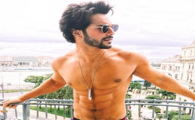 Varun Dhawan's shirtless pic from Budapest goes viral