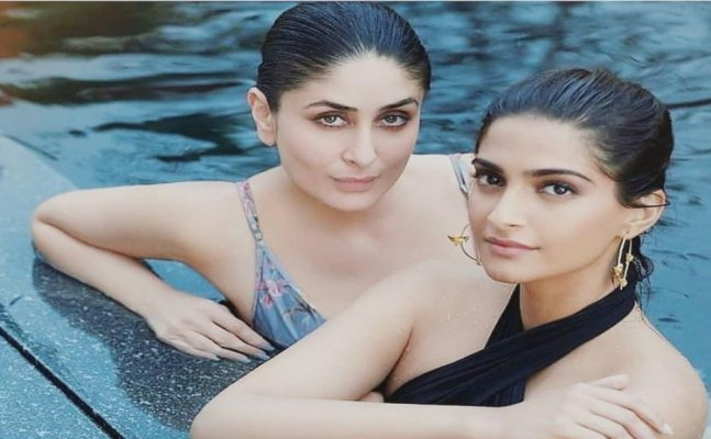 Kareena Kapoor and Sonam Kapoor's latest swimming pool pic is oh-so-HOT