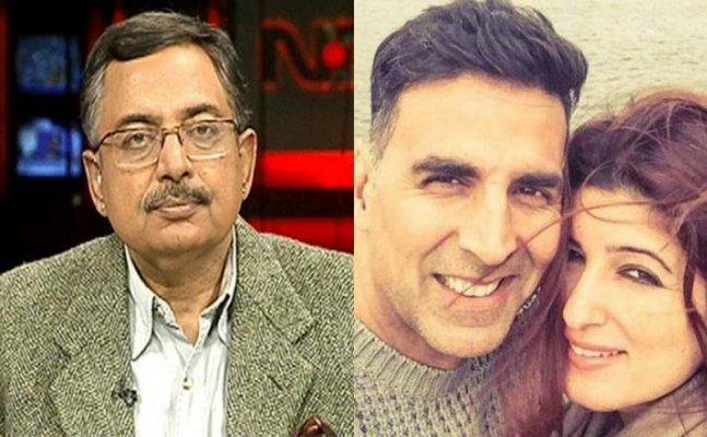 Vinod Dua calls Twinkle 'embarrassed wife'