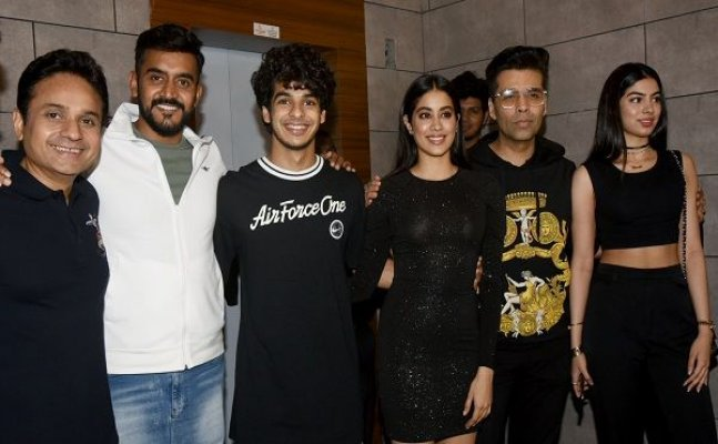 Janhvi Kapoor to Ishaan Khatter; Celebs attend 'Dhadak's success bash