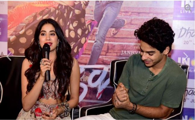 Janhvi Kapoor speaks in Bengali during 'Dhadak' promotions