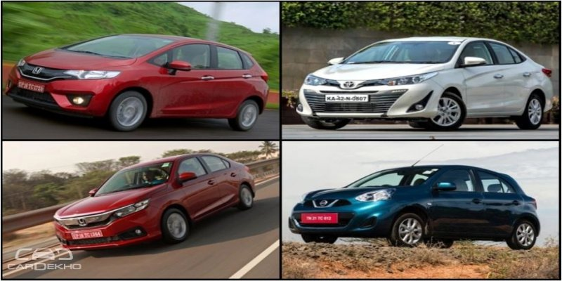Top 8 Cars Under Rs 10 Lakh With CVT Automatic Transmission
