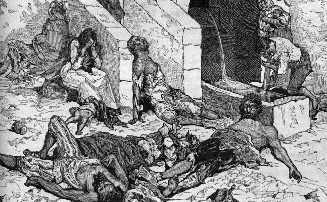 Black Death that erased half the population of England was not caused by rats!