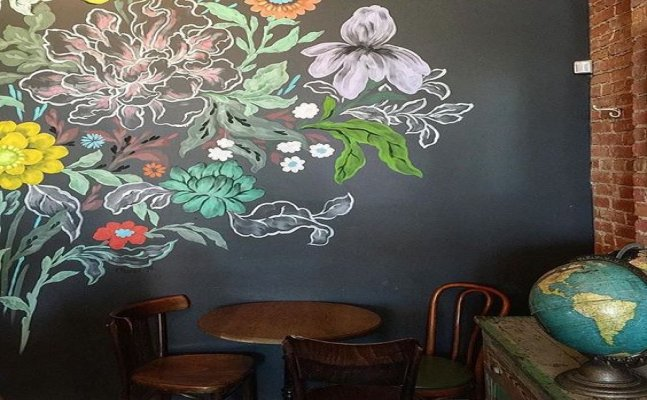 Bring life to dull places around you with trendy chalkboard walls