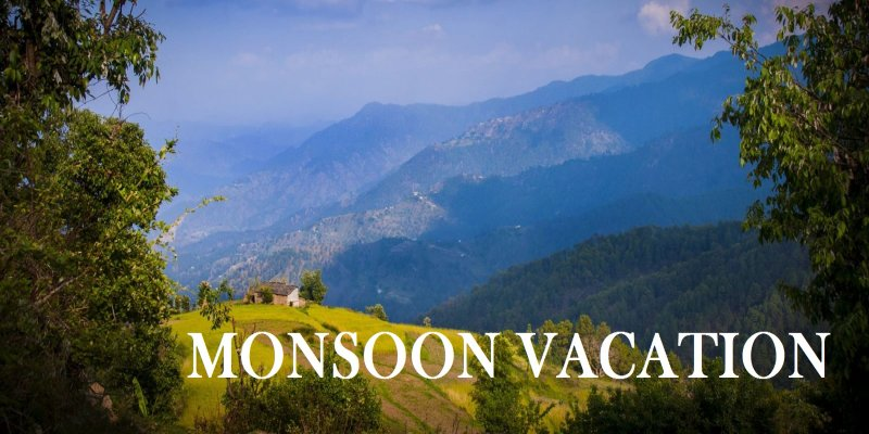 Plan your monsoon vacations for upcoming holidays in August 2018