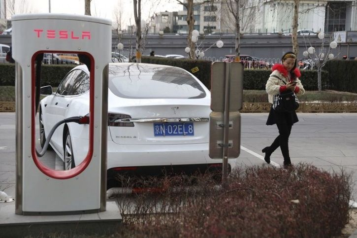 China is ahead of India in adopting EVs