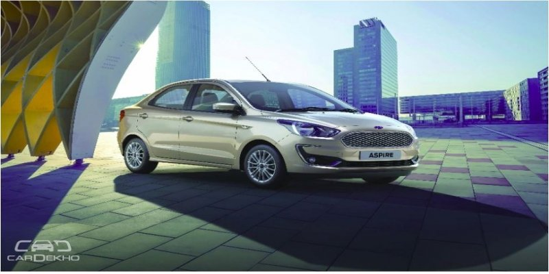 2018 Ford Aspire Facelift: Launch Tomorrow