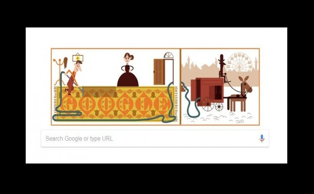 Google Doodle commemorates Hubert Cecil Booth`s 147th Birthday