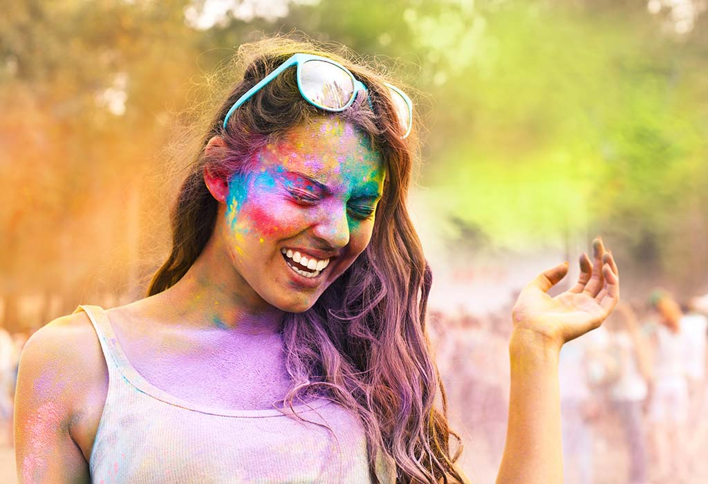 Get Rid Of Stubborn Holi Colours By Following These Simple Tips
