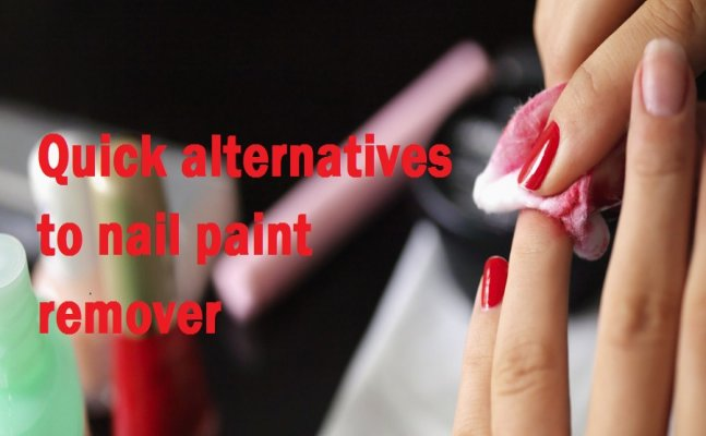 Cannot find your nail paint remover? Try these quick alternatives to remove nail polish
