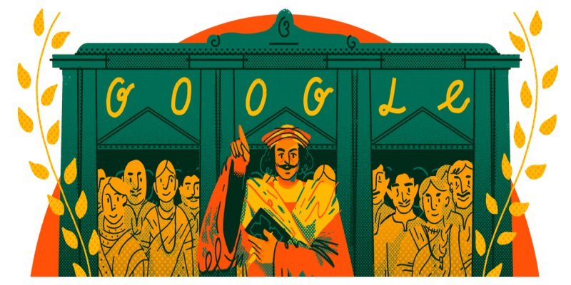 Raja Ram Mohan Roy the pioneer of Modern India remembered by Google Doodle