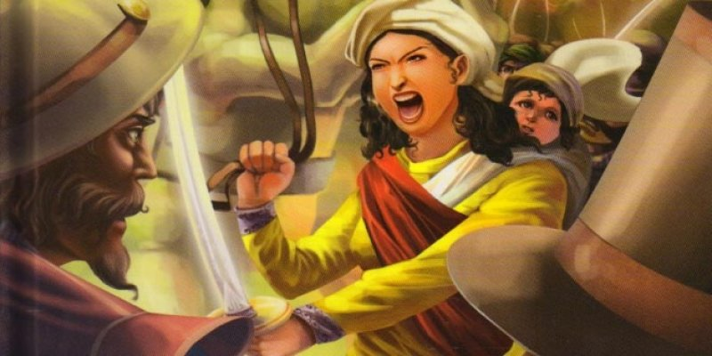 Rani Laxmi Bai- the woman who`s valor terrified every living and dead