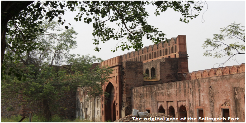 Salimgarh Fort- Exploring the lesser known part of Red Fort